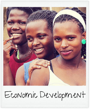 economic development - three women