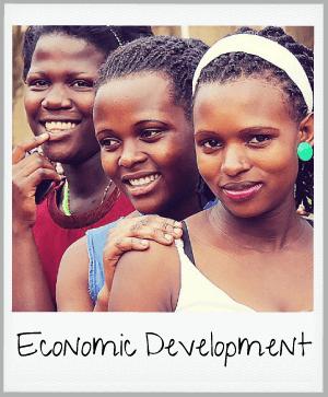 economic development - three women